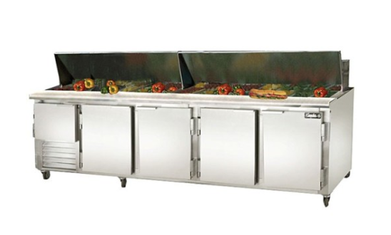 Refrigerated Prep Table for Convenience Stores