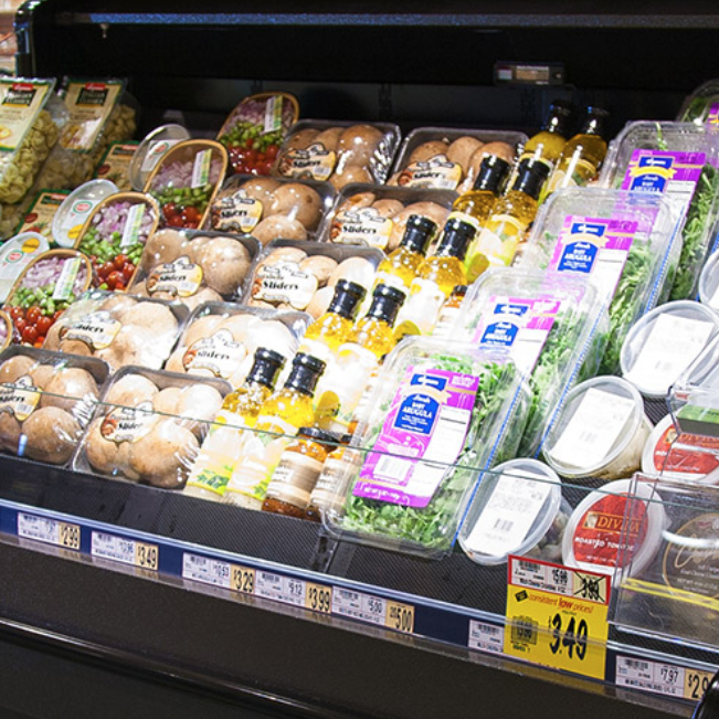 multi-deck merchandiser for convenience stores